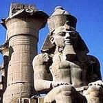Ramesses II pharaoh of Egyptian Empire and Exodus