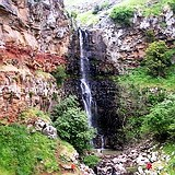 Golan Heights Crow Canyon waterfall