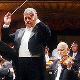 Zubin Mehta conducting the Israel Philharmonic