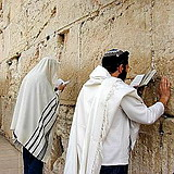 Western Wall remnant of the Holy Temple in Jerusalem
