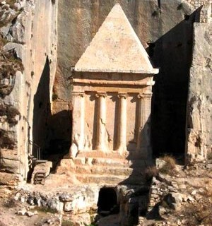 Tomb of Zechariah son of Jehoiada the priest in the Kidron Valley, Jerusalem