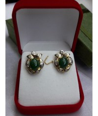Jade Jewelry : JADE EARRINGS
