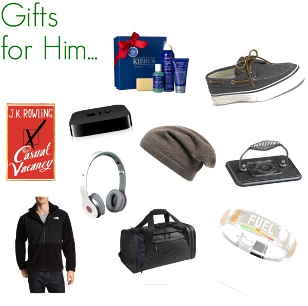 gift guide for him 2012