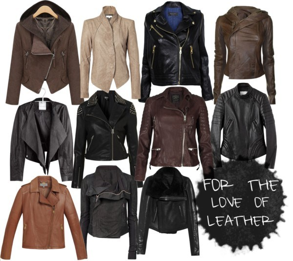 love of leather jackets