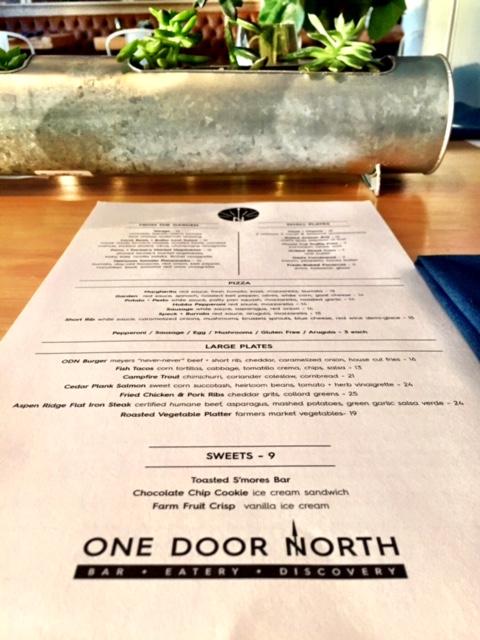 one door north menu