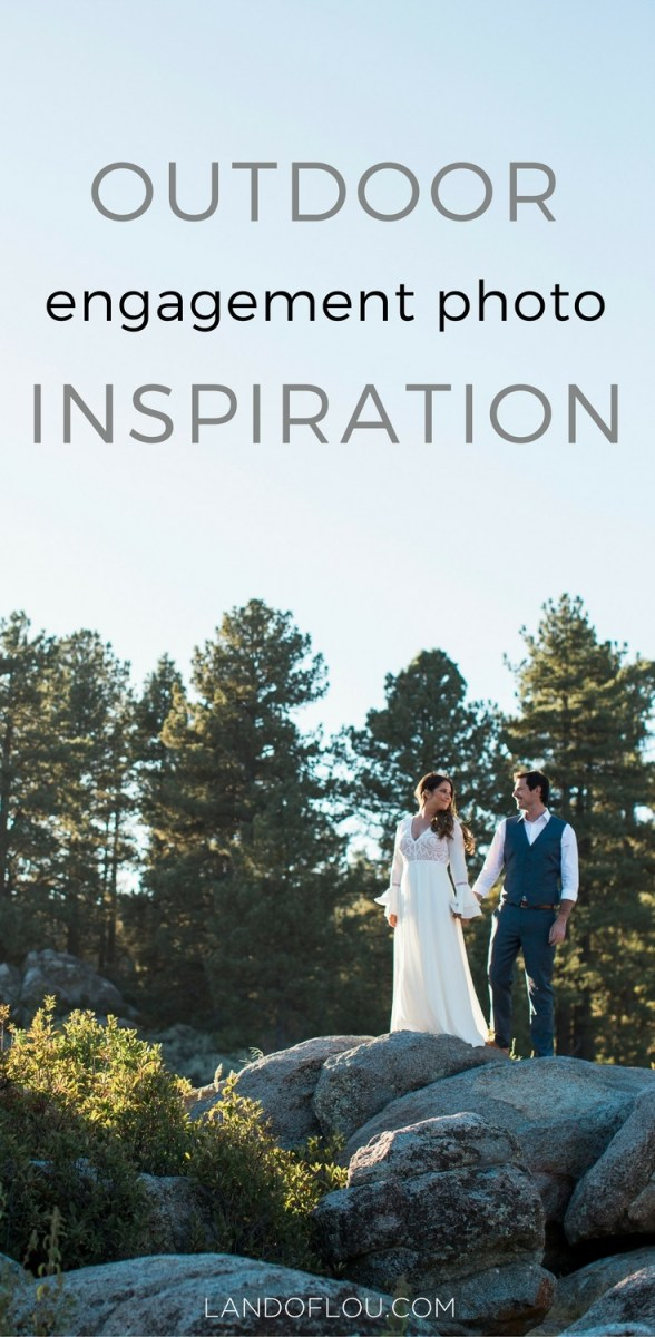 Outdoor Engagement Photo Inspiration
