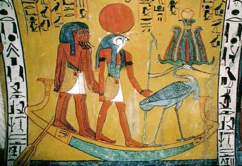 Image result for Amen Ra in boat