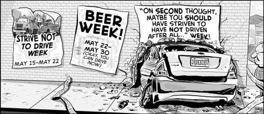 Rekt Week cartoon by Brent Brown