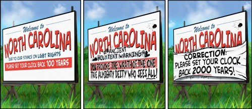 """Warning Signs"" cartoon by Brent Brown"