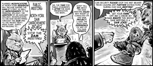"""Steve the Beaver #2"" cartoon by Brent Brown"