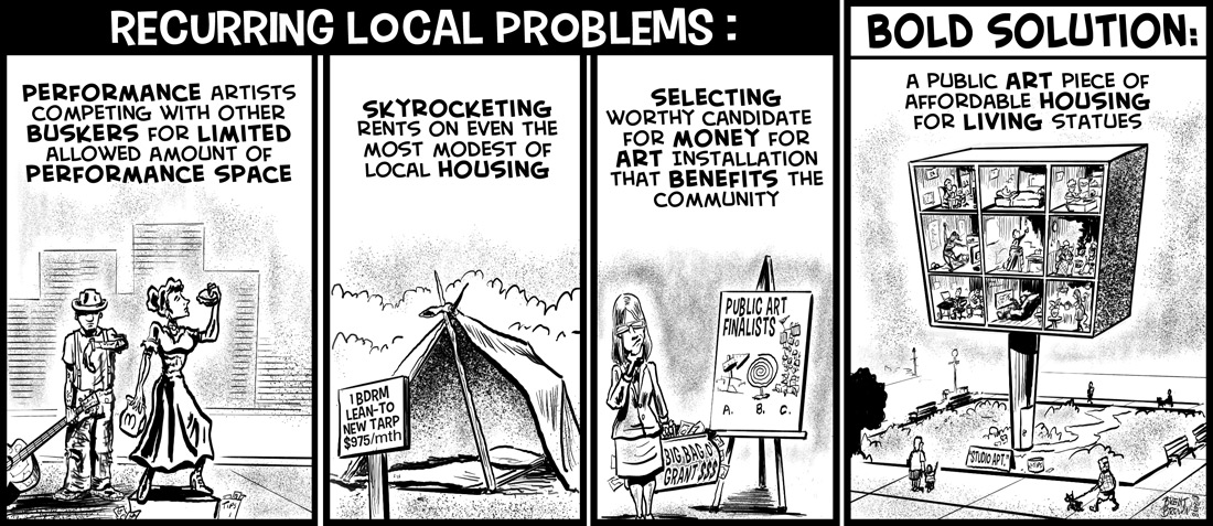 Local Problems, Bold Solutions #1