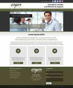 Páginas web ASGAR