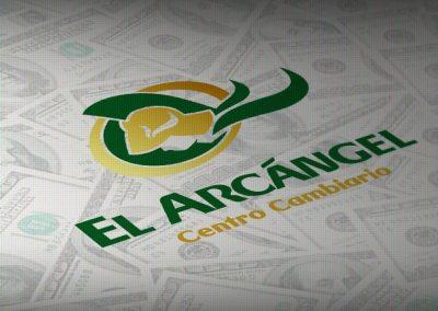 Diseño e instalación de letrero para centro cambiario El Arcángel