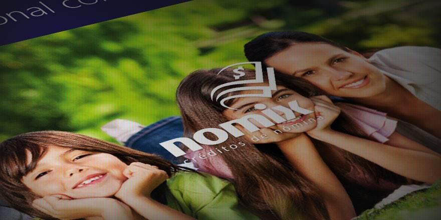 Creación de marca e identidad Nomix, créditos de nómina