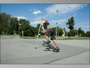 sk8pole land paddle is great for all riders