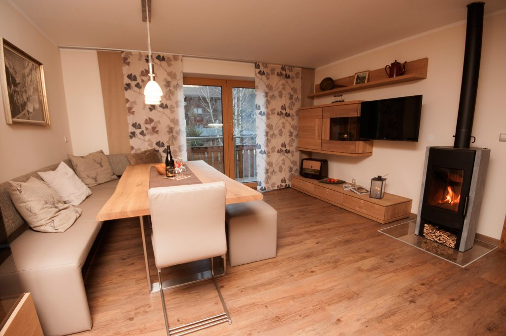 wood and glass kitchen cabinets cannisters apartment-suite lärchenwald (larch forest) - landresidenz ...