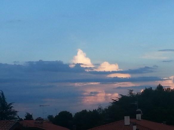 Nuvole a oriente