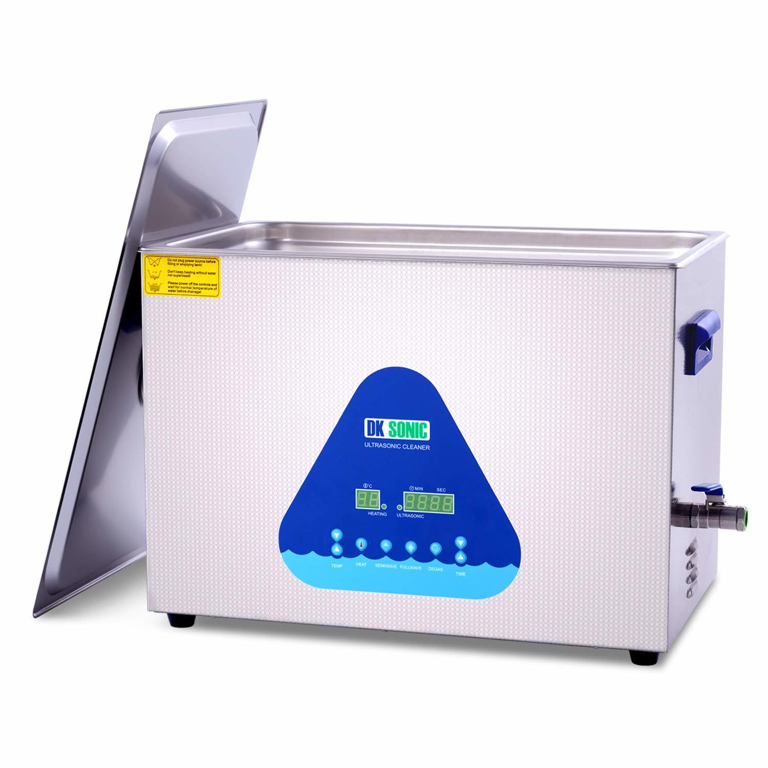 Large Professional Ultrasonic Carb Cleaner - DK SONIC 30L 600W