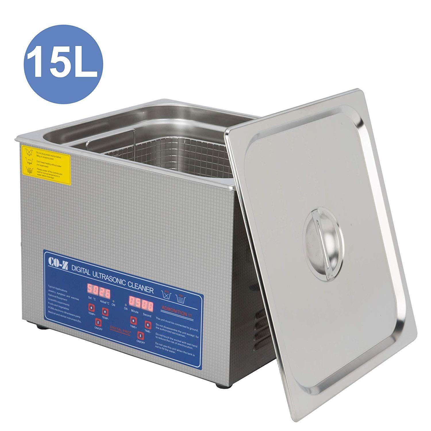 Tek Motion 15L Professional Ultrasonic Cleaner with Timer Digital
