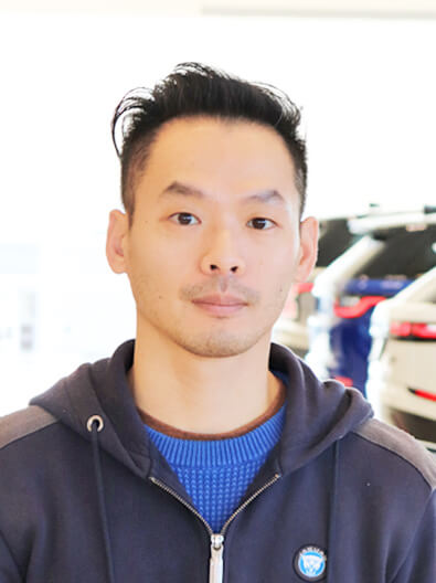 James Chiang - Parts Representative