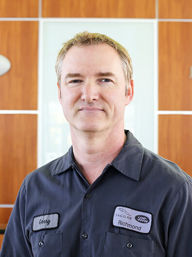 Gerald Carrington - JAGUAR LAND ROVER TECHNICIAN