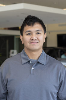 KEVIN TUAZON - PARTS ADVISOR