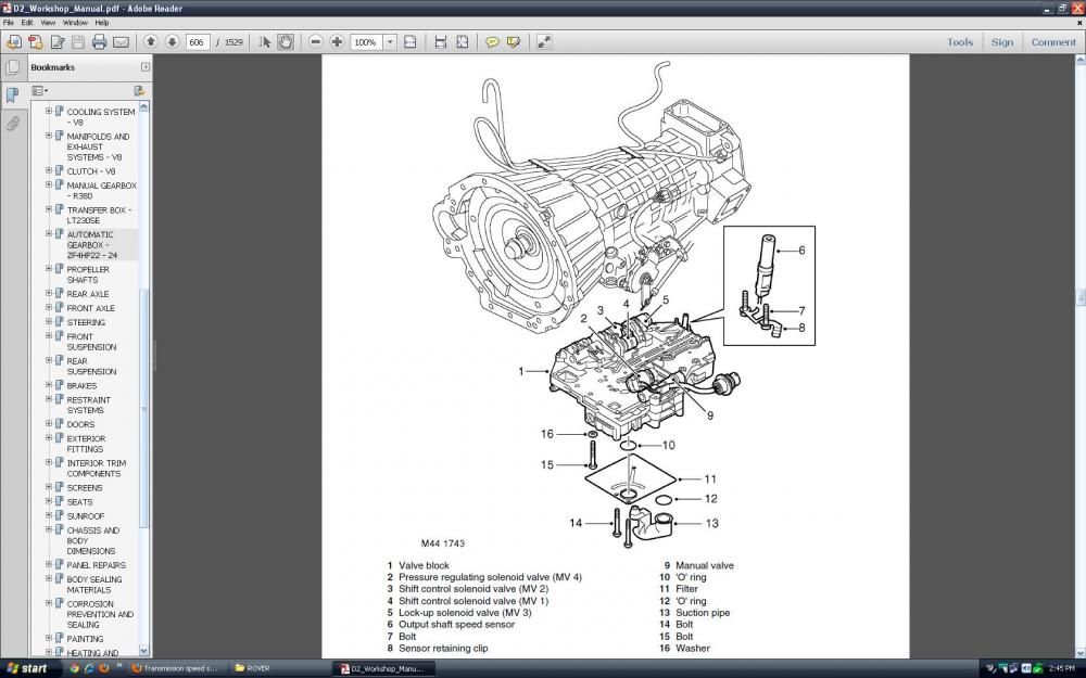 Need Wiring Diagram For Range Rover Vouge 2006 Solved Fixya