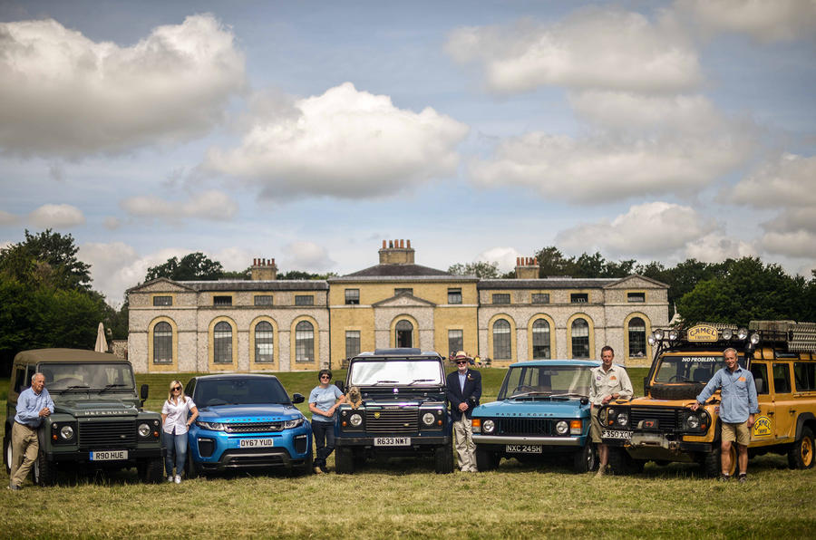 Land Rover 70th-anniversary parade to take place at Goodwood Festival of Speed