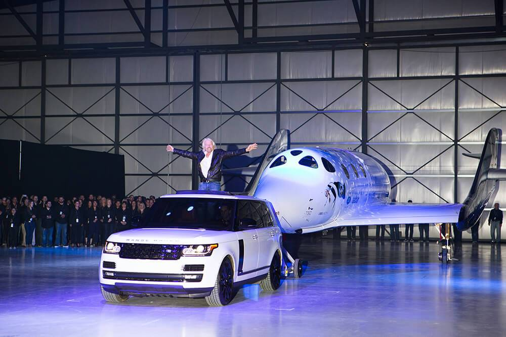 The ultimate adventure&#8217&#x3B;: Virgin Galactic works with Land Rover