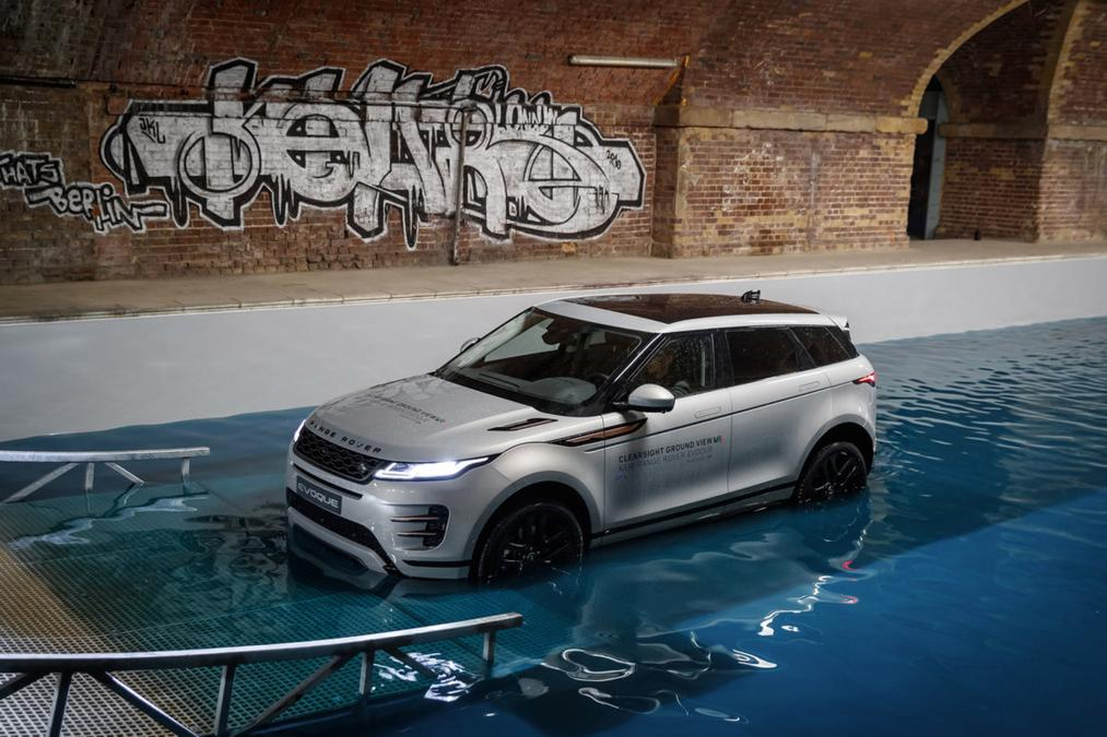 Report: Range Rover Evoque unveiled
