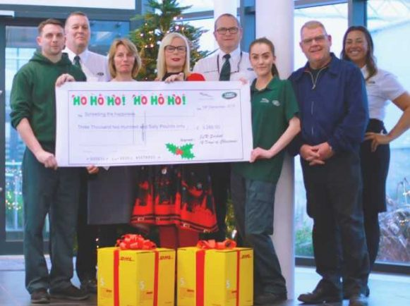 JLR staff raise funds to spread happiness in the community