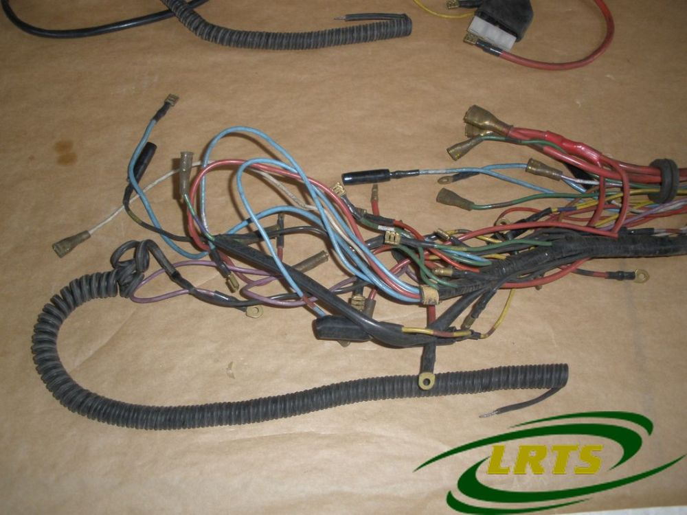 medium resolution of nos genuine santana land rover wiring harness part 169545