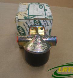 nos genuine fuel filter v8 twin carburetor land rover defender disco rrc part nrc9786 [ 1066 x 800 Pixel ]