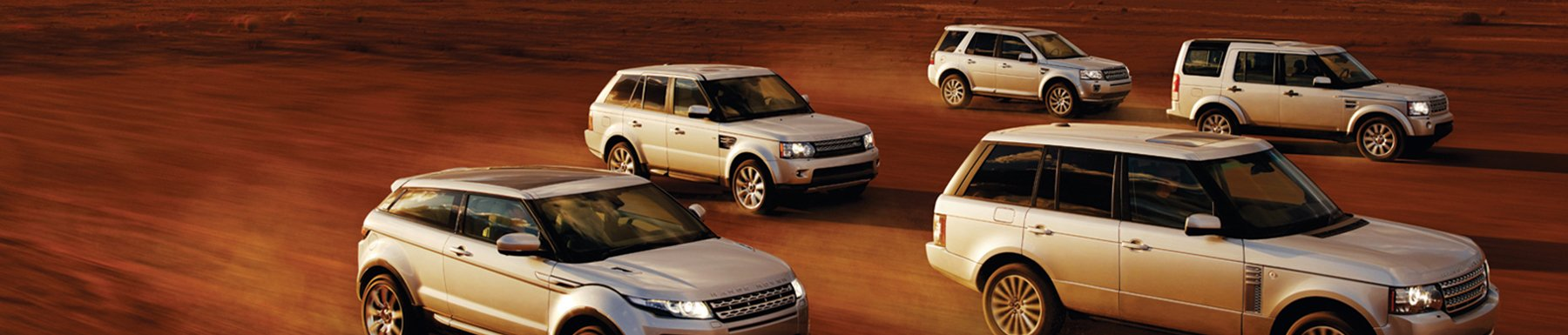 Land Rover Vehicles - Certified Pre-Owned Header Image