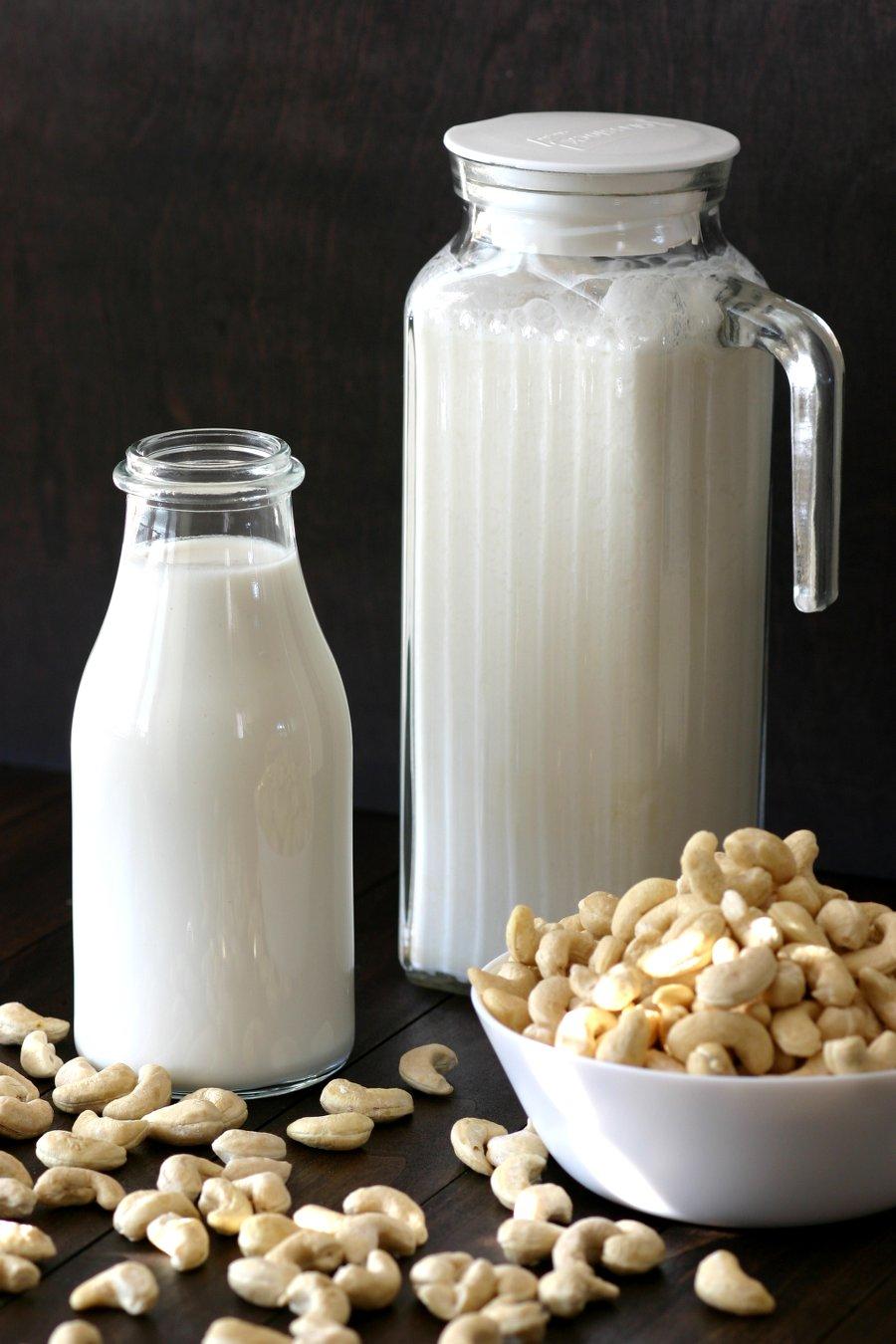 Make your own creamy, homemade Cashew Milk and Cashew Cream with this straightforward, 3-ingredient recipe.