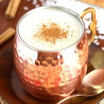 This Mexican Sweet Rice Drink (Atole de Arroz) is a creamy cinnamon and vanilla-flavored hot beverage with a porridge-like consistency that's perfect cold weather days.