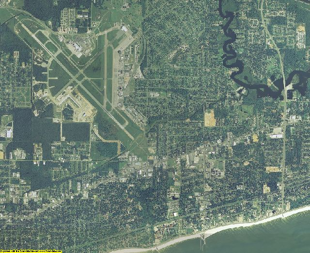 2007 Harrison County Mississippi Aerial Photography