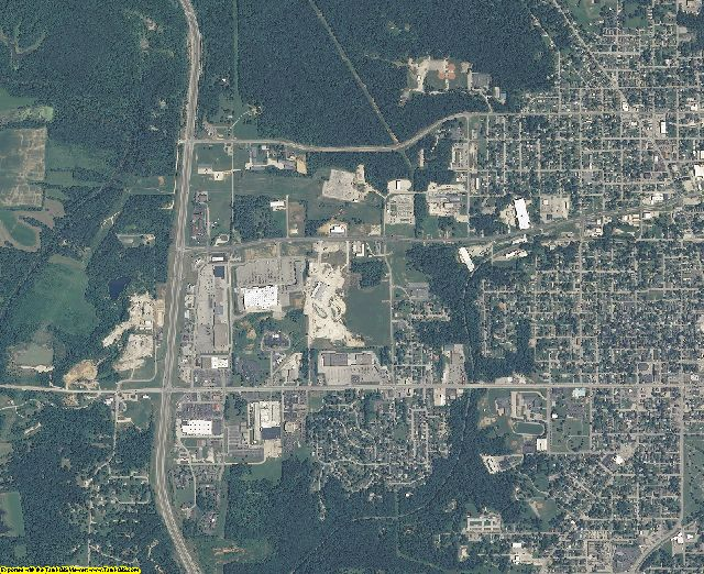 Free download Lawrence County Indiana USGS Topographic