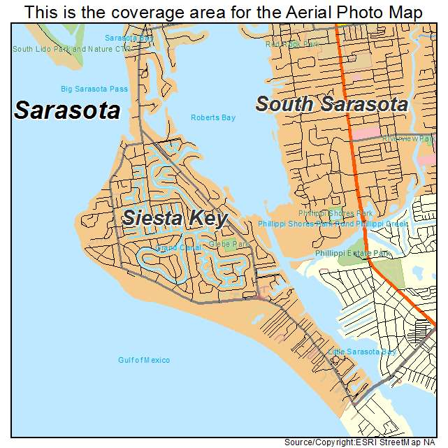 Map Condos Siesta Key Beach