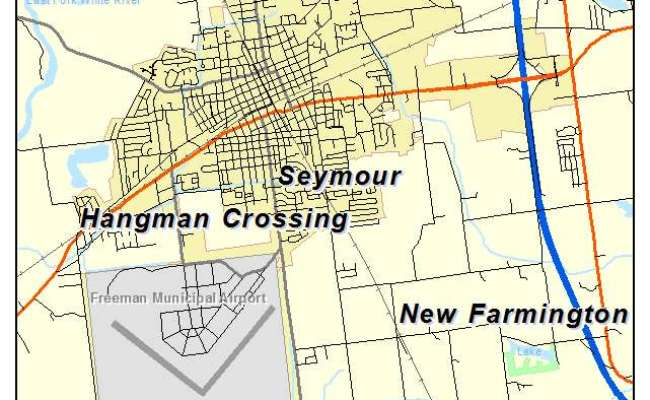 Map Of Seymour Indiana Map Chococard