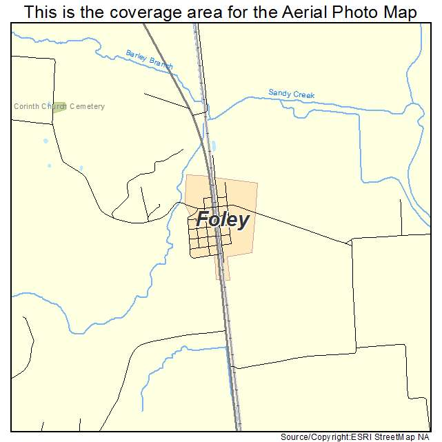 Foley, MO location map