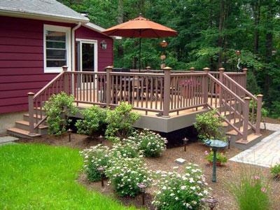 design deck steps