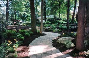 Garden Ideas For Wooded Areas Fine Woodworking Blueprint