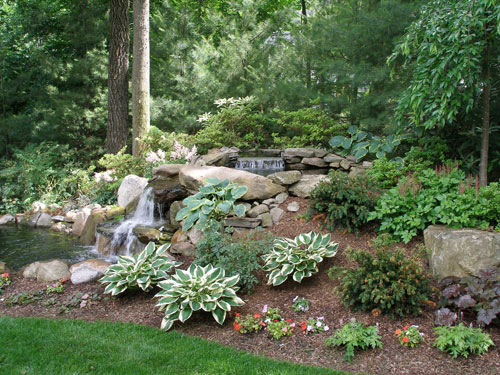 water features formal and informal