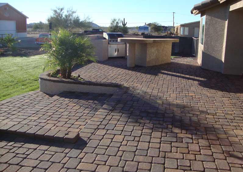 Paver Patio stones design ideas and installation AZ Living