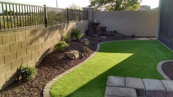 small backyard landscaping - az
