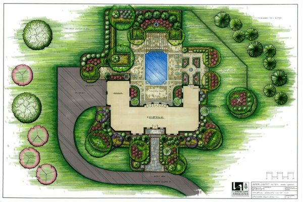 landscape plans and drawings