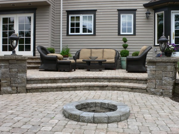 paver patio steps designs 5 Ways to Improve Patio Designs for Portland Landscaping