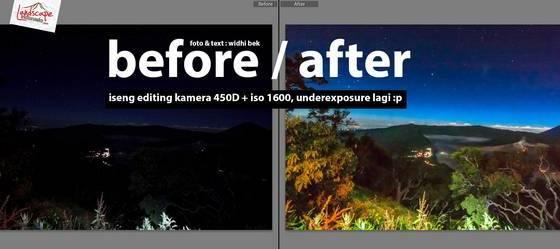 bromo 7588 mentah tn 1 - Iseng Editing Foto Hasil 450D + iso 1600, underexposure lagi :p