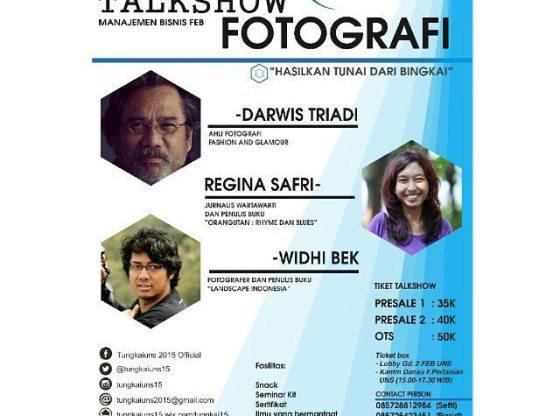 tungkai uns - Talkshow Fotografi - Tungkai UNS